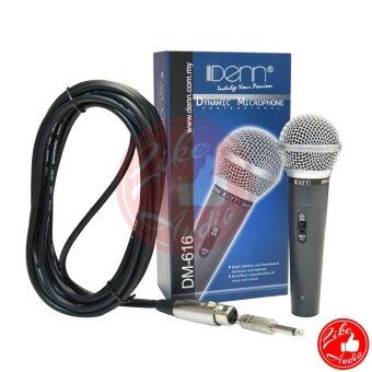 Harga DENN DM-616 Moving Coil Dynamic Microphone