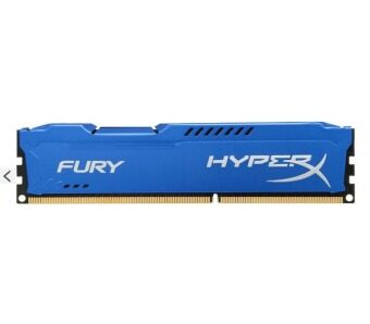 Harga Kingston Ram Desktop 4GB HyperX Fury Blue 1866MHz DDR3 (1.5V - HX318C10F/4)