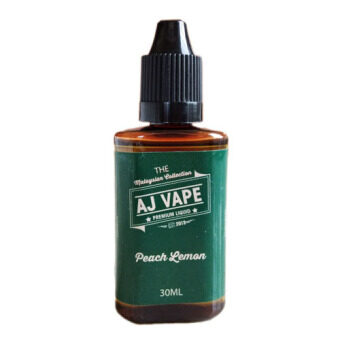 Harga AJ Vape Peach Lemon E-Juice For Vape And Electronic Cigarettes 30ML 0Mg + (Does not contain nicotine)