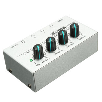 Harga 4 Channel Headphone HA400 Stereo Amp Microamp Amplifier