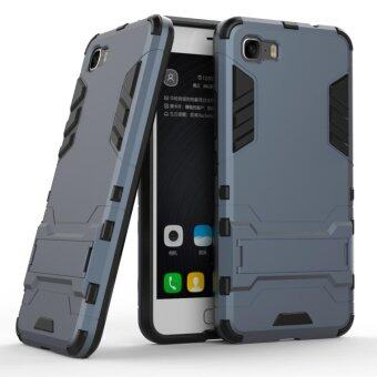 Harga Iron Hard Man Armor Dual Phone Back Cover Case With Kickstand For ASUS ZenFone3s Max ZC521TL
