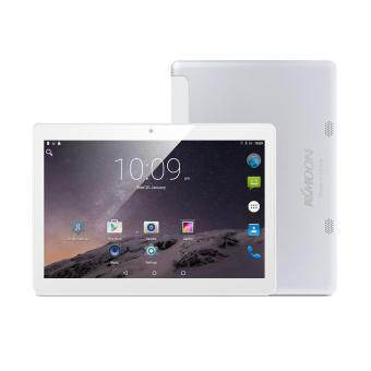 Harga KKmoon QT-10 Smart Tablet Phone 3G WCDMA 10.1 Inches 1GB RAM+16GB Silver