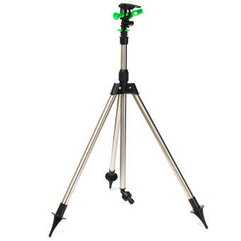 Harga Tripod Impulse Sprinkler Pulsating Telescopic Watering Grass Lawn Yard & Garden