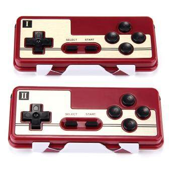 Harga 8BITDO FC30 Anniversary Wireless Game Controller Gamepad Set 2 PCS for iOS Android Windows Mac - Red