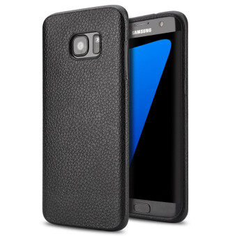 Harga Soft Protective Back Cover Case for Samsung Galaxy S7 Edge Ultra Thin Back Cases(Black)