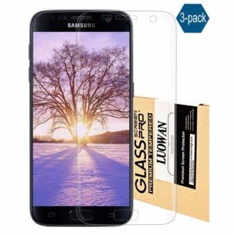 Harga Galaxy S7 Edge Screen Protector, LucaSng [3-Pack][HD Ultra Clear Film] [Full Coverage] PET Screen Protectors
