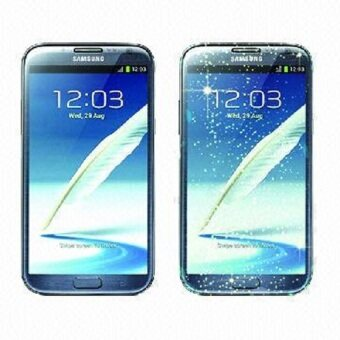 Harga Buy one, get one free Tempered Glass Diamond Screen Protector for SAMSUNG Note 2 N7100