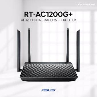 Harga Asus RT-AC1200G+ AC1200 Dual-Band Wi-Fi Router