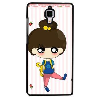 Harga Y&M Kawaii Girl Phone Case for HTC M7 (Multicolor)