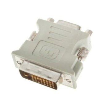 Harga DVI DVI-D Dual Link MALE TO VGA ADAPTER for HDTV LCD