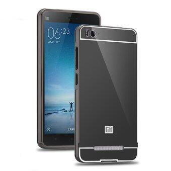 Harga PC Luxury Metal Aluminum Bumper Case for Xiaomi Mi 4i M4i 4C (Grey)