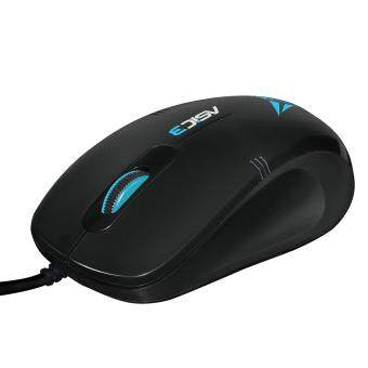 Harga Alcatroz Asic 3 High Resolution Optical Mouse (Black Blue)