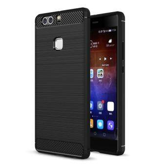 Harga BYT Carbon Rugged Armor Cover Case for Huawei P9 Plus