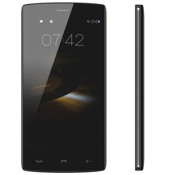 "Harga HOMTOM HT7 3G WCDMA Smartphone Android 5.1 OS Quad Core MTK6580A 5.5"" IPS Screen 1GB +8GB Black"