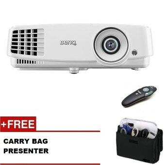 Harga BenQ MS527 Eco-friendly Business Projector (SVGA 800 x 600, 3300 ANSI Lumens, 13000:1, HDMI) Free: Carry Bag + Presenter