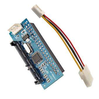 Harga BUYINCOINS 7+15p 22pin SATA Male to IDE PATA 40Pin Female JM20330 Adapter SATA-IDE card