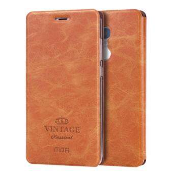 Harga MOFI VINTAGE Xiaomi Redmi Note 4 Crazy Horse Texture Horizontal Flip Leather Case with Card Slot & Holder & Sleep / Wake-up Function(Brown)