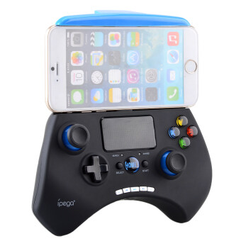 Harga IPEGA PG-9028 Wireless Bluetooth Unique Controller Gamepad (Black/Blue)