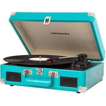 Harga Crosley CR8005C-TU Cruiser II Portable Battery Powered 3-Speed Turntable, Turquoise