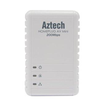 Harga Aztech HL113E Homeplug AV 200Mbps MINI Ethernet Adaptor (Single)