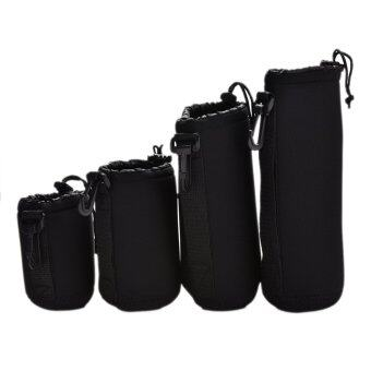 Harga Buytra 4×Neoprene Soft for DLSR Camera Lens Pouch Case Bag Protector