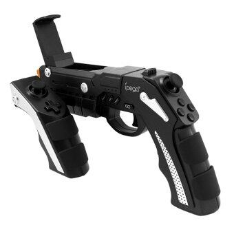 Harga iPega PG-9057 Phantom ShoX Blaster Bluetooth Gun Game Controller Wireless Bluetooth 3.0 With Stand for Android 3.2 IOS 7.0 Above Smartphones Tablet PC Win7 Win8 Win10 Computer