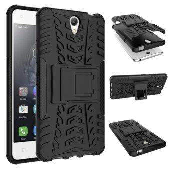 Harga Moonmini Kickstand Hybrid Shockproof Case for Lenovo Vibe S1 (Black)
