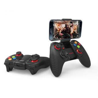 Harga iPega PG-9067 Dark Knight Wireless Bluetooth Portable Gamepad Game Controller Joystick Android iOS PG-9067 for iPhone & Android ( Black )