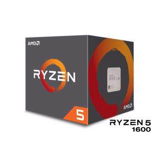 Harga AMD Ryzen™ 5 1600 Socket AM4 Processor (Quad Core 3.2GHz/3.4GHz)