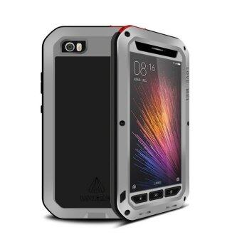 Harga LOVE MEI Aluminum Cases Metal Cover for Xiaomi mi5 pro mi 5 M5 (Silver)