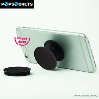 Harga Popsockets A Grip A Stand An Earbud Management System (Black)