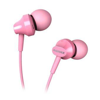 Harga Remax RM501 Stereo Earphone (Pink)