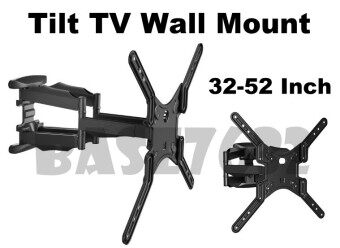 Harga NB 32 to 52 Inch Swivel Arm TV Wall Mount Bracket Holder P5 / SP500 / DF500 1776.1