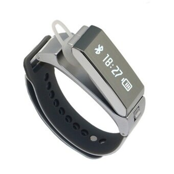 Harga TalkBand K2 Bluetooth Smart Bracelet Wristband Fitness Tracker(Grey)