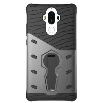 Harga Heavy Duty Shockproof Dual Layer Hybrid Armor Defender Full Body Protective Cover with 360 Degree Rotating Kickstand Case for huawei mate 9