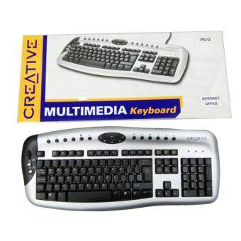 Harga CREATIVE MULTIMEDIA KEYBOARD PS2