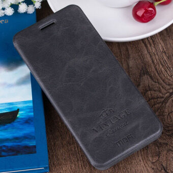 Harga MOFI Vintage Card Slot Leather Case for Xiaomi Redmi Note 4 - Black