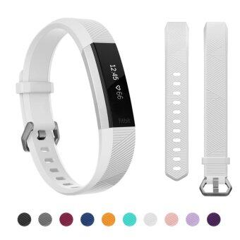 Harga Hanlesi Fitbit Alta HR Band , Newest Universal Fitbit Alta HR / Fitbit Alta Band Replacement Sport Fitness Wristband Strap with Secure Metal Buckle for Fitbit Alta HR 2017