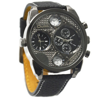 Harga Vococal Personalized Dual Time Zone Display Wristwatch