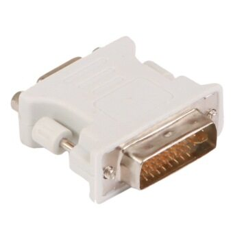 Harga (SAMZHE)ZH-310 DVI To VGA Conversion head DVI 24+5 male+VGA15P female port(white)