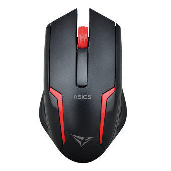 Harga Alcatroz Asic 5 High Resolution Optical Mouse Free Mousemat (Red)