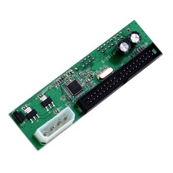 Harga PATA IDE TO SATA Converter Adapter PlugAndPlay 7+15 Pin 3.5/2.5 SATA HDD DVD