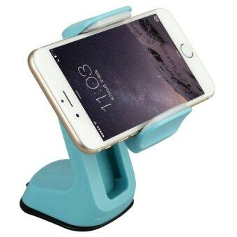Harga Baseus Z Series 360 Car Windshield / Dashboard Mounts Holder for iPhone 6 and 6 Plus 5 and 5S and 5C / Samsung Galaxy S6 and S6 Edge and A3 and A7 and Note 4 / HTC / Nokia / Sony(Blue)