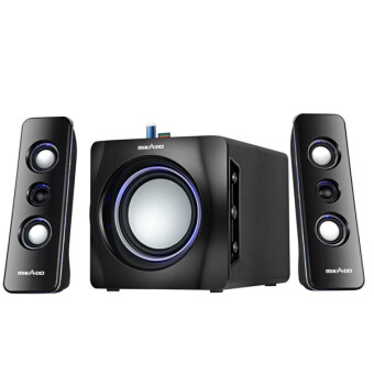 Harga Salpido Tron 101 2.1 Multimedia Speaker (Black)