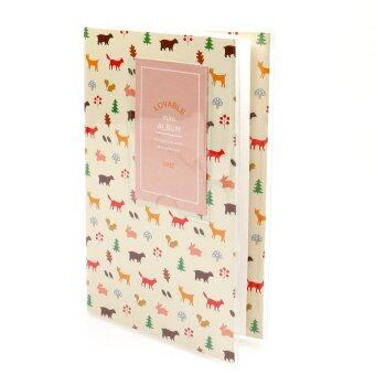 Harga KEEP/Fujifilm Instax Album 84 Photo Lovable Korean Style (Forest) 51036