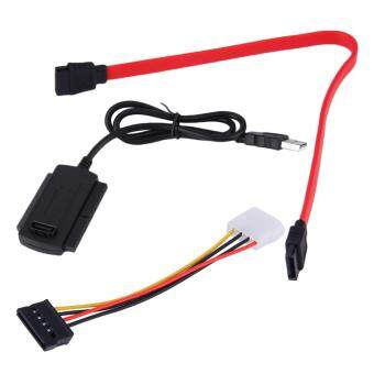 Harga ELEC SATA/PATA/IDE Drive to USB 2.0 Adapter Converter Cable for 2.5/3.5 Hard Drive