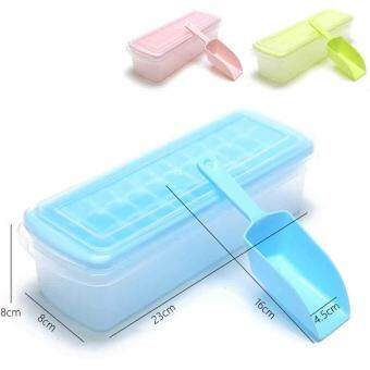 Harga Silicone ice Creative ice lattice Square Ice Cube Trays food grade PP Ice Mold