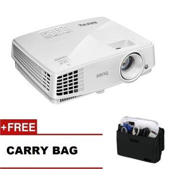 Harga BenQ MX528 XGA 1024 x 768 Business Projector with HDMI Free: BenQ Carry Bag