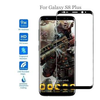 Harga Galaxy S8 Plus Screen Protector, Gogerstar 9H HD Clear Anti-Bubble Full Coverage 3D Curved Tempered Glass Screen Protector for Samsung Galaxy S8 Plus(Black)