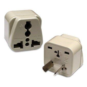 Harga Wonpro Travel Adapter WA-17 for China, Austrialia, New Zealand